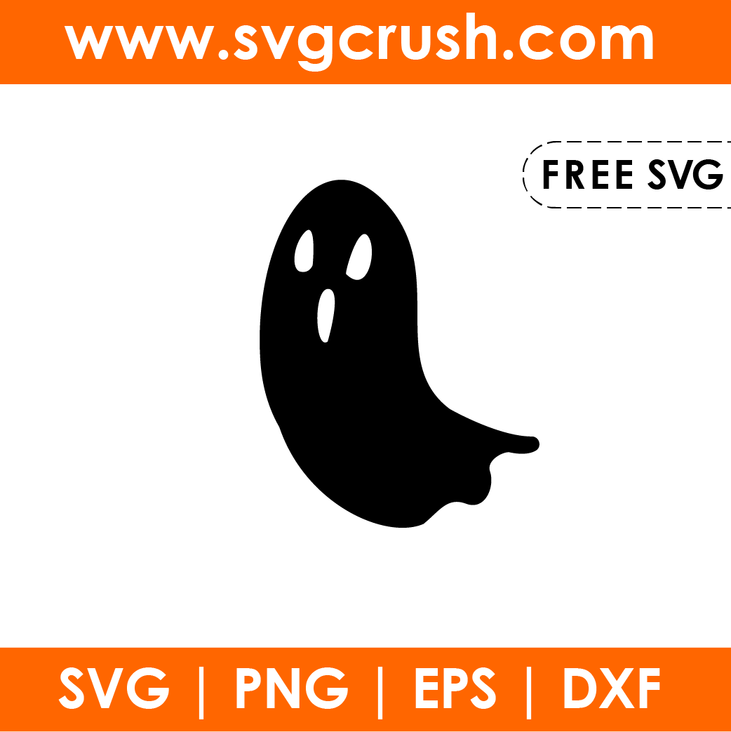 free halloween-ghost-002 svg