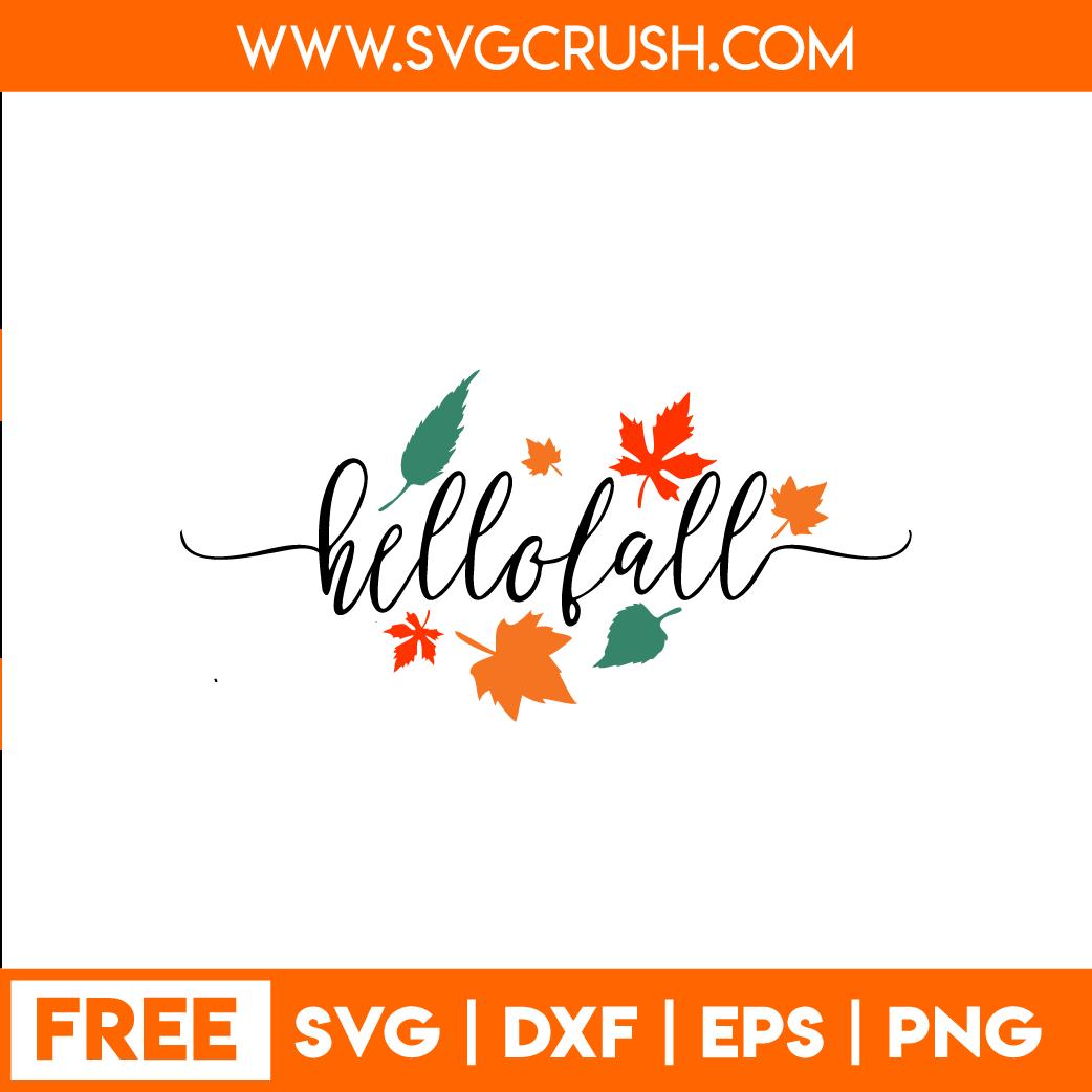Svgcrush Autumn Rainfall Snowy Thankful Hello Fall Free Svg Cut Files